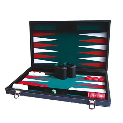 Hot 1630Boîte de jeu de jacquet de luxe - 38cm - version anglaise