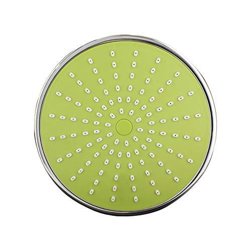 Ronde douchekop van de badkamer 8-inch ABS-extra douchekop optionele meerkleurige douchekop groen