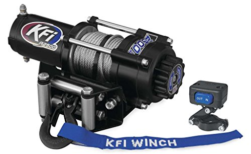 Great Deal! New KFI 2500 lb Winch & Model Specific Mounting Bracket - 2003-2014 Can-Am Outlander 400...