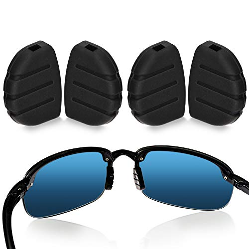 [2 Pairs] Impresa Nose Pads For Maui Jim Sport and Martini Sport Sunglasses - Exact Fit Maui Jim Replacement Nose Piece - Easy Slip On Nose Pads - Silicone Sunglass Nose Pads Parts
