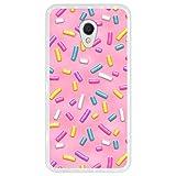 Hapdey Phone Case for [ Meizu MX6 ] design [ Pink donut