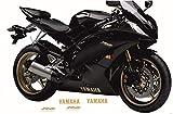 Kit de Pegatinas Moto Compatible para Yamaha R6 2006/2015