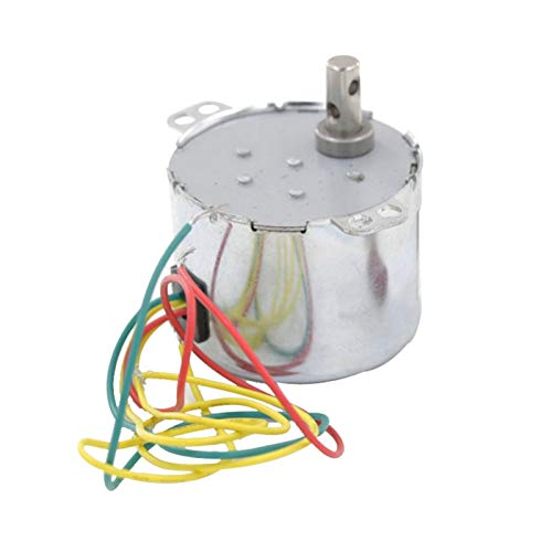 WNJ-TOOL, 1pc 50KTYZ Metall Shell 5RPM 6W Watt 50Hz 220V AC Synchron-Getriebe-Motor