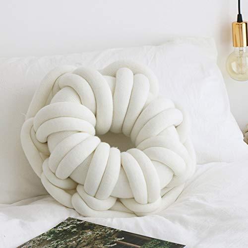 NYKK Almohada Almohada de Viaje Ovalada Anudada Throw Pillow hogar Creativo Sofá Decoración Linda Suave de la Almohada Lumbar cojín de Juguete de Felpa Almohada Almohada de Viaje Almohada Cervical