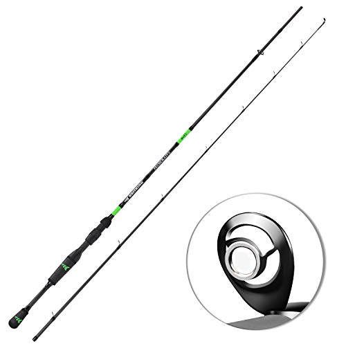 KastKing Resolute Fishing Rods, Casting Rod 7ft 6in-Medium - Fast-2pcs