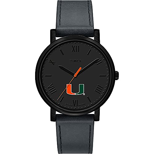 Timex Ladies University of Miami Hurricanes Watch Black Night Game Watch
