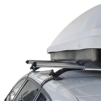 accessorypart Roof Rack fits Toyota Corolla 2013-2020 Cross Bars Rail Carrier Aluminum Gray Rain Gutter