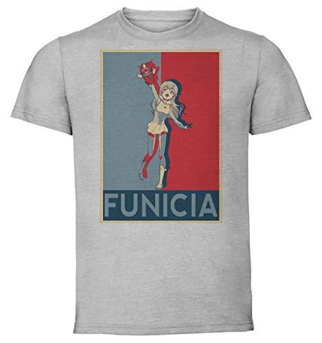 T-Shirt Unisex - Grey Shirt - Propaganda - Kanata No Astra Astra Lost In Space - Funicia Raffaeli Size Large