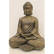 Ornate buddha garden ornament statue