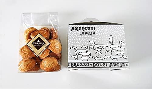 Paquete de Regalo - Amaretti - Galletas de Almendras - 350 gr - Dolci Aveja