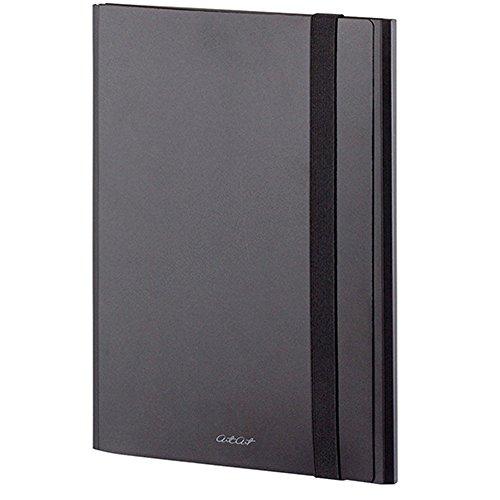 セキセイ アルタート スリムバンドケース A4 ブラック ART-5500-60 【まとめ買い3冊セット】