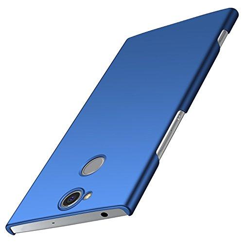 Sony Xperia XA2 Plus Hülle, Anccer [Serie Matte] Elastische Schockabsorption & Ultra Thin Design für Sony XA2 Plus (Nicht für Sony XA2) (Glattes Blau)