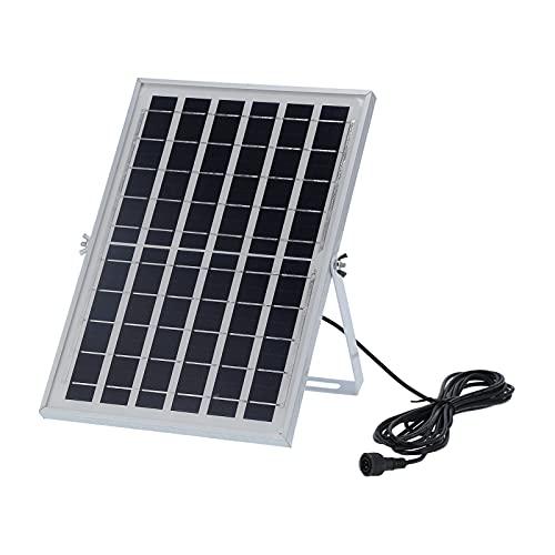 Panel solar, cargador de batería solar portátil policristalino del panel solar de 6V 8W para el ordenador del barco de RV del coche