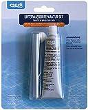 POWERHAUS24 Unterwasserreparatur-Set - Spezial-Unterwasserkleber (Reparatur-Set) - Unterwasser Reparatur-Set für Pool - Schwimmbecken - Innenhüle - Folienreparatur