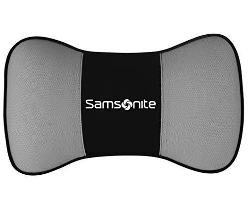 SAMSONITE - Car Neck Pillow, Helps Elevate Comfort, 100% Pure Memory Foam, Fits Most Vehicles