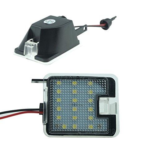 2x Do ! Éclairage périphérique de rétroviseur LED I08 LED SMD Lumière ambiante avec marquage E