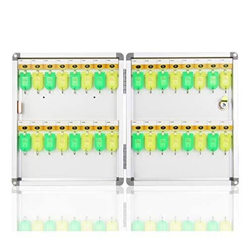 La Combinación De Gabinetes Clave De Múltiples Posiciones Se Puede Marcar con Bloqueo 32 Posiciones De Teclas Caja De Llaves Montadas En La Pared Caja De Almacenamiento