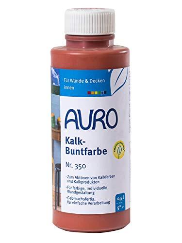 AURO Kalk-Buntfarbe Terracotta 0,5 L