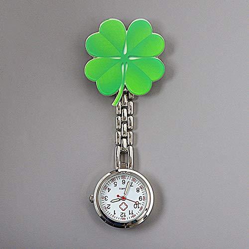 Reloj Médico,Reloj de Enfermera Luminoso de Dibujos Animados, Clip médico Reloj de Bolsillo impermeable-250,Reloj Médico de Bolsillo de Silicona