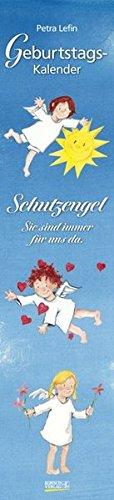 Geburtstags-LP Schutzengel i.w.: Immerwährender Wandkalender. Format 11 x 48 cm.