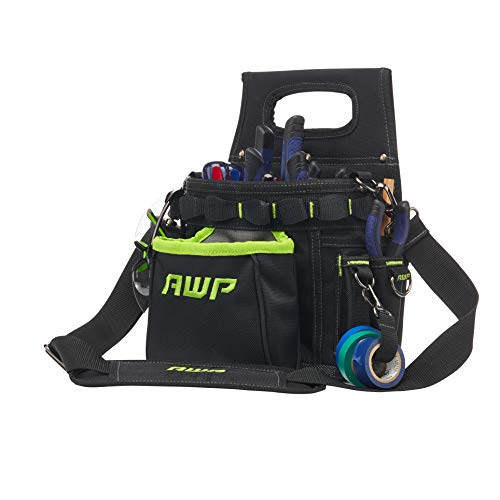 """AWP TrapJaw 3-in-1 Electrician Tool Pouch, 9"""" W x 13"""" H - L-72708-1"""