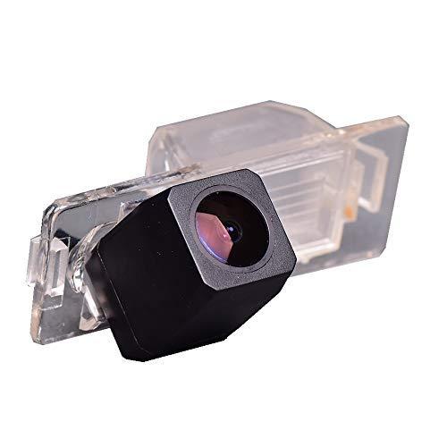 Farb Rückfahrkamera integriert in die Nummernschildbeleuchtung Kennzeichenbeleuchtung Kamera mit Distanzlinien für Chevrolet Aveo Cruze Trailblazer Opel Mokka Cadillac Cts SRX