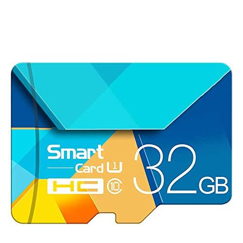 HLKJ geheugenkaart, Micro SD-kaart geheugenkaart met app-prestaties tot 90 MB/S TF-flashkaart