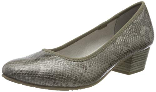Jana Softline Damen 8-8-22360-24 Pumps, Grau (Grey Snake 290), 41 EU