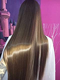 RUNATURE Light Brown Clip in Human Hair Extension 9 piece 14 inch On Sale Soft Long Straight Remy Hair Double Weft Extensions for Party 100g #8