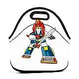 Bolsa Comida Camiseta Otaku De Moda Gourmet Tote Picnic Anime Impreso Bolsa De Almuerzo Colorida Reutilizable Trabajo Unisex Regalo De Barbacoa Caja De Almuerzo Escuela De Cumplea