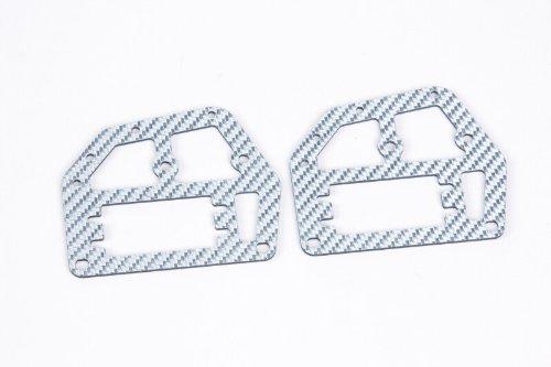 Graupner - 90190.125 - Pièce Du Chassis Supérieur En Carbone, Argent