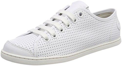 Camper Uno, Zapatillas Mujer, Blanco (White Natural 100), 38 EU