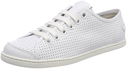 Camper Uno, Zapatillas para Mujer, Blanco (White Natural 100), 41 EU