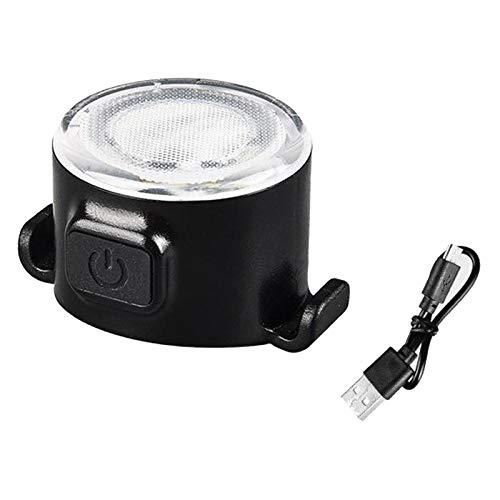 Colcolo Lámpara de Luz de Ciclismo Recargable USB de Faro Delantero Y Trasero LED para Bicicleta - Blanco