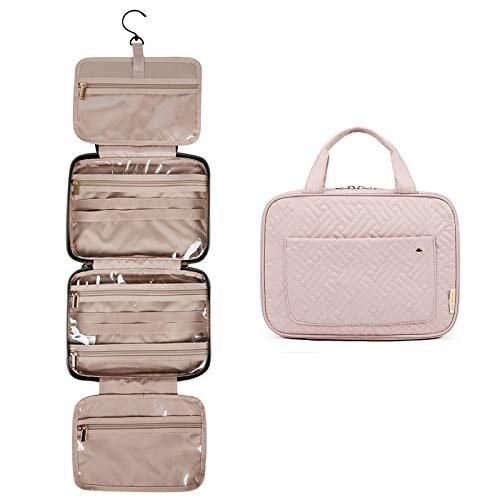 BAGSMART Toiletry Bag Travel Bag with hanging hook,...