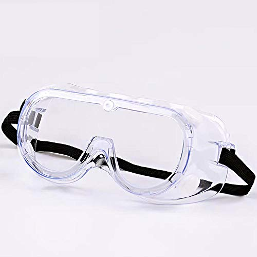 WWWLD Gafas antiproyección luz Plana a Prueba de Viento a Prueba de Polvo Anti-Salpicaduras protección Laboral Gafas pulidas Gafas Protectoras Hombres y Mujeres 5/4/3/2 / 1PCS-4PCS