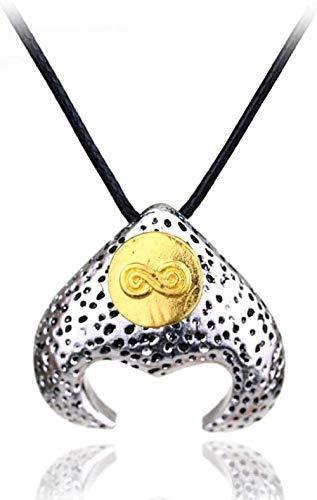 FACAIBA Halskette Das Labyrinth Halskette des Labyrinthläufers David Bowie Magic Anhänger Halskette für Frauen Männer Mode Seil Kette Schmuck Zubehör Zubehör