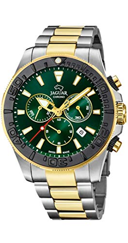 Jaguar Reloj Executive Diver XL, Hombre, (diametro Caja 46.5mm) Movimiento: CRONÓGRAFO- Suizo - Cristal: Zafiro (Executive Diver XL, J873/2)