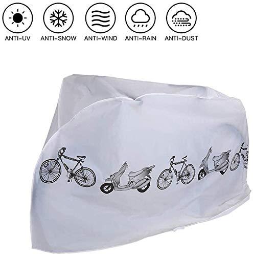 Bike Cover Outdoor Waterproof, Bescherming tegen UV Regen Sneeuw Stof, voor Mountain Road Elektrische Fiets Driewieler, One Cover Fits All