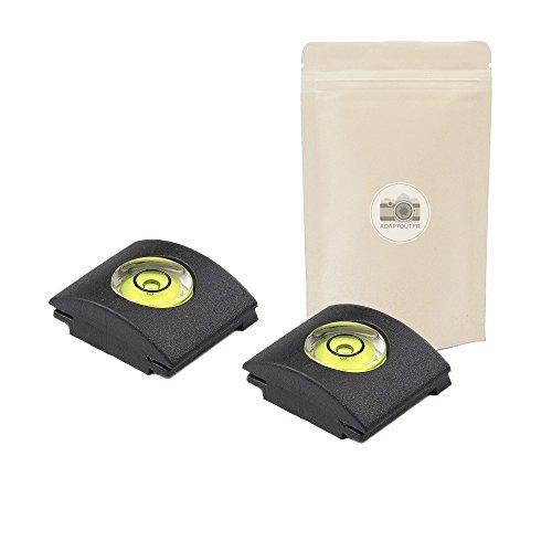 2X Blitzschuh-Schutz mit Wasserwaage Blitzschuh-Abdeckung Blitzschuh-Abdeckung für DSLR