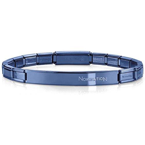 Nomination Trendsetter 021113/016 Women's Bracelet, Stainless Steel, 20 cm