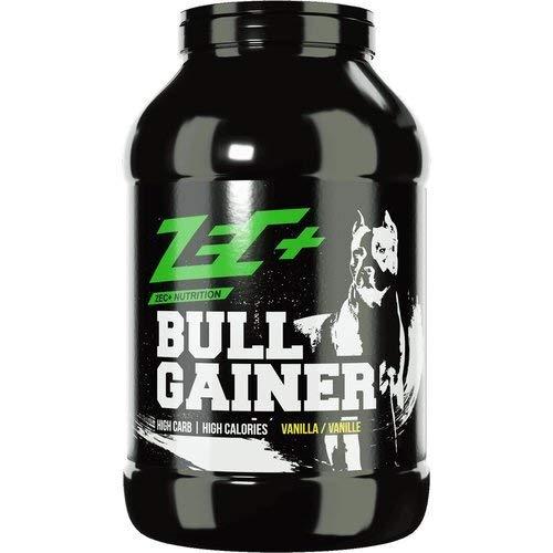 ZEC+ Bullgainer Protein-Pulver – 3500 g, Eiweiß Supplement mit Proteinen & Kohlenhydrathen, idealer Protein Shake für Krafttraining, Geschmack Vanille