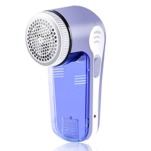 House of Quirk Fabric Shaver and Electric Lint Remover for All Types of Clothes, Fabrics, Blanket and More - Purple