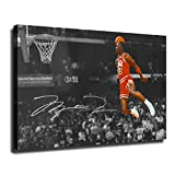 Yu Feng Art, Home Decoration, Bedroom and Living Room Decoration, Michael Jordan Wall Poster (Framed-Ready to Hang,12x18inch)