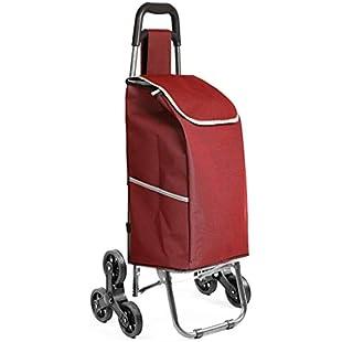 DSADDSD Folding Home Portable Shopping Cart, Climb The Shopping Cart, Grocery Cart (Color  B)