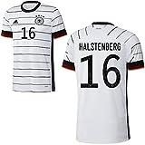 adidas Fußball DFB Deutschland Home Trikot Heimtrikot EM 2020 Herren Halstenberg 16 Gr M
