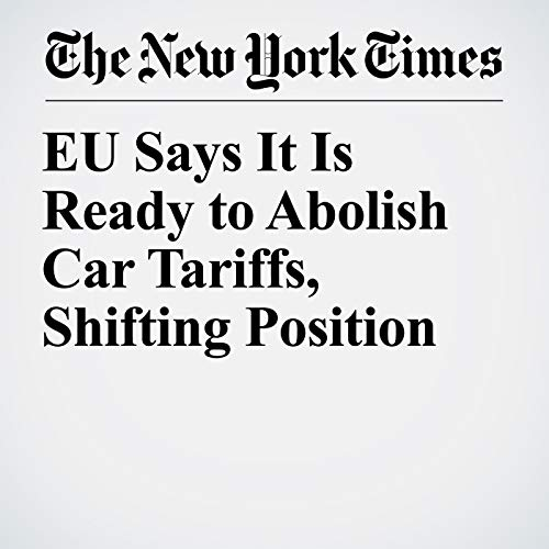 EU Says It Is Ready to Abolish Car Tariffs, Shifting Position copertina
