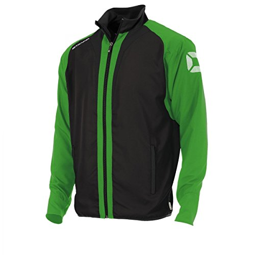 Stanno Riva Micro Jacke Trainingsjacke schwarz-hellgrün schwarz-hellgrün, XL