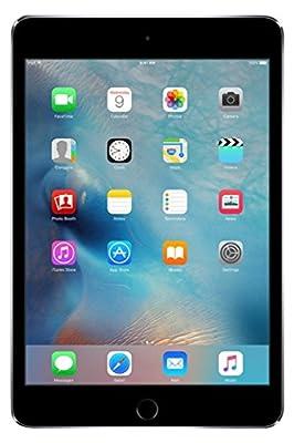 Apple iPad Mini 4 64GB Wi-Fi - Space Grey (Renewed)