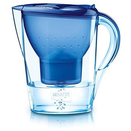 BRITA, Carafe Filtrante, Marella, 2.4L, 1 Cartouche Filtrante Maxtra incluse - Bleu